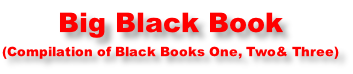 Big Black Book (Compilation of Black Books One, Two& Three)
